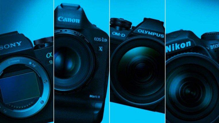 معدات التصوير من الكاميرات